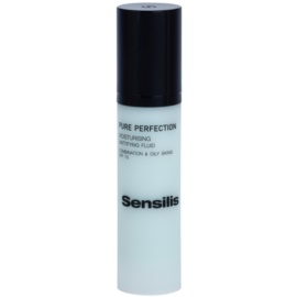 Sensilis Pure Perfection hydratisierendes Fluid mit Matt-Effekt  50 ml