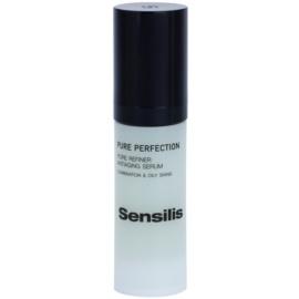 Sensilis Pure Perfection ránctalanító szérum a bőr kisimításáért és a pórusok minimalizásáért  30 ml