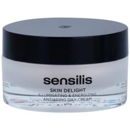 Sensilis Skin Delight protivráskový krém pro rozjasnění a vitalitu pleti SPF 15  50 ml