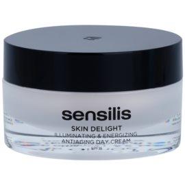 Sensilis Skin Delight крем против бръчки за озаряване на кожата и повишаване на жизнеността ѝ SPF 15  50 мл.