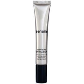 Sensilis Supreme Expression tratamiento antiarrugas, antiojeras y antibolsas para contorno de ojos  15 ml