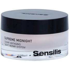 Sensilis Supreme Midnight hloubkově regenerační noční krém s protivráskovým účinkem  50 ml