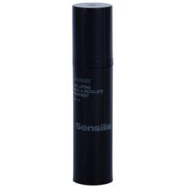 Sensilis Upgrade remodellierendes Lifting-Serum für Hals und Dekolleté LSF 15  50 ml