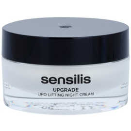 Sensilis Upgrade liftingový noční krém pro definici kontur obličeje  50 ml