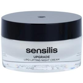 Sensilis Upgrade creme de noite lifting para definição de contornos faciais  50 ml