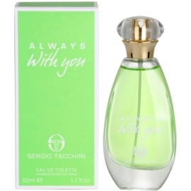 Sergio Tacchini Always With You Eau de Toilette pentru femei 50 ml
