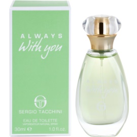 Sergio Tacchini Always With You Eau de Toilette pentru femei 30 ml
