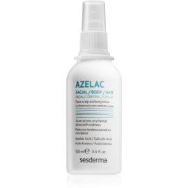 Sesderma Azelac заспокоюючий тонік для догляду за жирною шкірою з акне  100 мл
