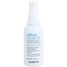 Sesderma Azelac beruhigendes Tonikum zur Behandlung von fettiger Haut mit Akne  100 ml