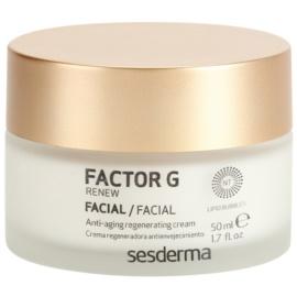 Sesderma Factor G Renew regenerační krém s růstovým faktorem  50 ml