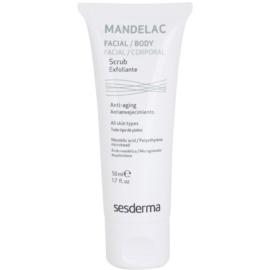 Sesderma Mandelac gyengéd hidratáló peeling az érzékeny arcbőrre  50 ml