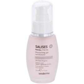 Sesderma Salises Moisturizing Gel For Oily Acne - Prone Skin  50 ml