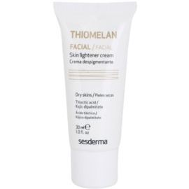 Sesderma Thiomelan crema protectora antimanchas aclarante SPF 15  30 ml