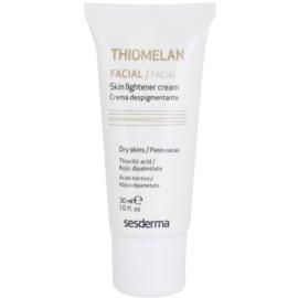 Sesderma Thiomelan bleichende und schützende Creme gegen Pigmentflecken LSF 15  30 ml