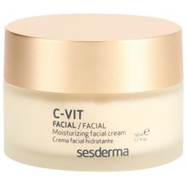 Sesderma C-Vit feuchtigkeitsspendende Gesichtscreme gegen die Alterung mit Vitamin C  50 ml