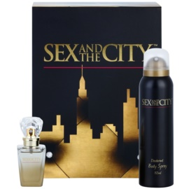 Sex and the City Sex and the City dárková sada I. parfémovaná voda 30 ml + deodorant ve spreji 150 ml