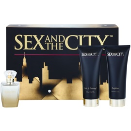 Sex and the City Sex and the City dárková sada II. parfémovaná voda 100 ml + sprchový gel 200 ml + tělové mléko 200 ml