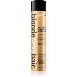 Sexy Hair Blonde šampon brez sulfatov za blond lase  300 ml