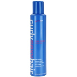 Sexy Hair Curly pěna pro podporu tvaru, objemu a lesku kudrnatých vlasů  250 ml