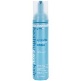 Sexy Hair Healthy espuma de cuidado para dar volume  200 ml