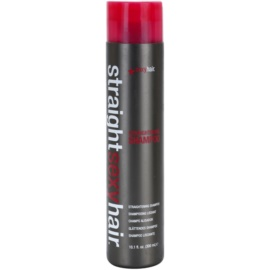 Sexy Hair Straight šampon pro narovnání vlasů  300 ml