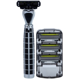 Shave-Lab Luxury Tres P.4 borotva tartalék pengék 3 db
