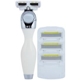 Shave-Lab Premium Twee P.L.6 Rasierer Ersatzklingen 3 pc
