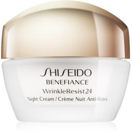 Shiseido Benefiance WrinkleResist24 Nachtverzorging - Hydraterende Crème  tegen Rimpels   50 ml