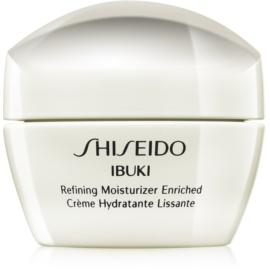 Shiseido Ibuki krem nawilżająco-kojący do wygładzenia skóry i zmniejszenia porów  50 ml