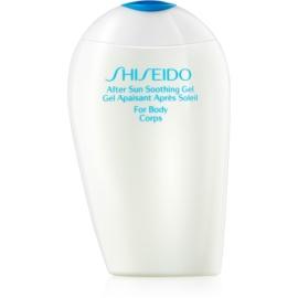 Shiseido Sun After Sun chladivý gel po opalování na tělo  150 ml
