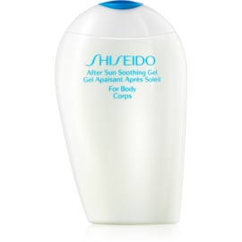 Shiseido Sun After Sun hladilni gel po sončenju za telo  150 ml