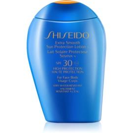 Shiseido Sun Protection молочко для засмаги для шкіри обличчя та тіла SPF 30  100 мл