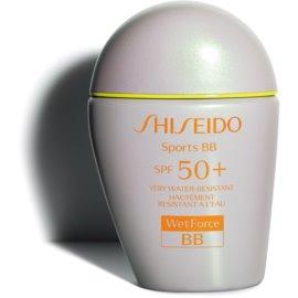 Shiseido Sun Care Sports BB WetForce BB krema SPF 50+ odtenek Dark 30 ml