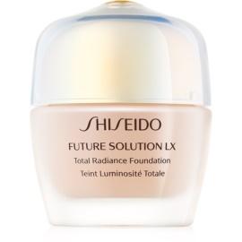 Shiseido Future Solution LX Total Radiance Foundation maquillaje con efecto rejuvenecedor SPF 15 tono Golden 3 30 ml