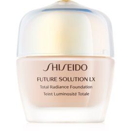 Shiseido Future Solution LX Total Radiance Foundation maquillaje con efecto rejuvenecedor SPF 15 tono Neutral 4 30 ml