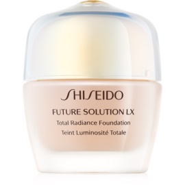 Shiseido Future Solution LX Total Radiance Foundation maquillaje con efecto rejuvenecedor SPF 15 tono Rose 4 30 ml