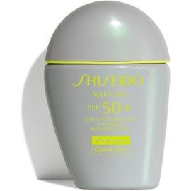 Shiseido Sun Care Sports BB BB krema SPF 50+ odtenek Medium 30 ml