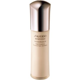 Shiseido Benefiance WrinkleResist24 Night Emulsion nočna vlažilna nega proti gubam  75 ml