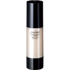 Shiseido Makeup Radiant Lifting Foundation posvetlitveni lifting tekoči puder SPF 15 odtenek B40 Natural Fair Beige 30 ml