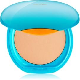 Shiseido Sun Foundation vízálló kompakt make - up SPF30 árnyalat Light Ochre  12 g