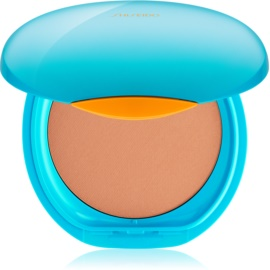 Shiseido Sun Foundation Wasserfestes Kompakt-Make Up SPF 30 Farbton Medium Beige  12 g