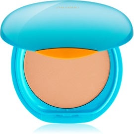 Shiseido Sun Foundation vízálló kompakt make - up SPF30 árnyalat Medium Ivory  12 g