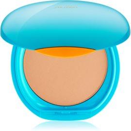 Shiseido Sun Foundation Wasserfestes Kompakt-Make Up SPF 30 Farbton Medium Ochre  12 g