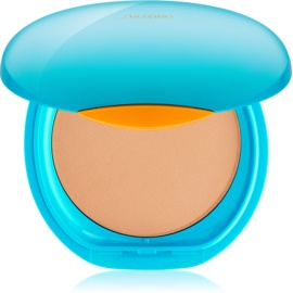 Shiseido Sun Foundation vízálló kompakt make - up SPF30 árnyalat Medium Ochre  12 g