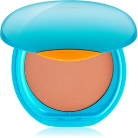 Shiseido Sun Foundation vízálló kompakt make - up SPF30 árnyalat Dark Beige  12 g