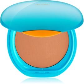 Shiseido Sun Foundation vízálló kompakt make - up SPF30 árnyalat Dark Ivory  12 g