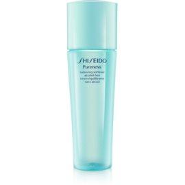 Shiseido Pureness tonizująca woda do twarzy bez alkoholu  150 ml