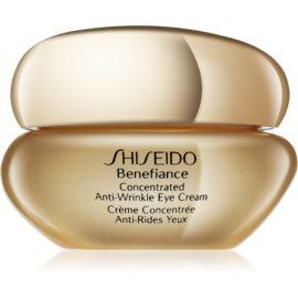 Shiseido Benefiance Augencreme gegen Schwellungen und Falten  15 ml