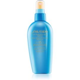 Shiseido Sun Protection sprej na opalování SPF 15  150 ml