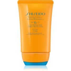 Shiseido Sun Protection Tanning Cream for Face SPF 6 50 ml
